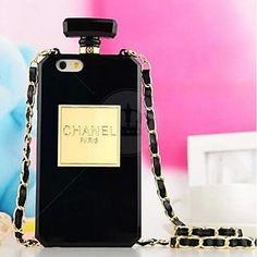 Capa Luxo Estilo Perfume Chanel para iPhone 6