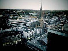 Cityblick mit Petrikirche 9.2015 https://www.facebook.com/