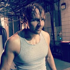 #DeanAmbrose isn't in the mood to party on #RawUK.