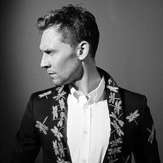 jasonhetherington: Outtake from Tom hiddleston shoot for flaunt magazine @flauntmagazine also featured in Elle magazine