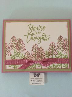 Other cards from Thoughtful Branches :: Stamping with Kay