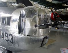 Consolidated B-24J Liberator nose detail, Imperial War Museum, Duxford.