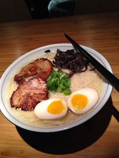 One of the best tonkutso ramens in Toronto. Taste is excellent like the ramens from Ippudo, NY.