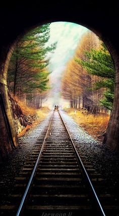 Entering a mystical village via train in Korea /// #travel #wanderlust