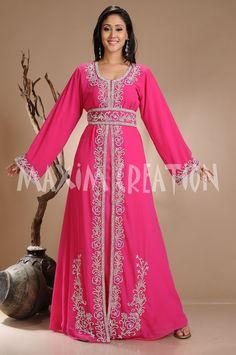 Dubai Caftan Moroccan Kaftan Dress Abaya Jilbab Islamic Arabian clothing 3831