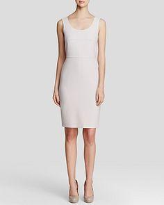 Max Mara Dress - Nuevo Doppio Crepe Bi-Stretch Top-Stitch | Bloomingdale's