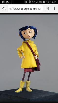 "Character painter on Henry Selick's ""Coraline"" at LAIKA Studios Coraline Jones, Coraline Movie, Coraline Doll, Halloween Kostüm, Halloween Costumes, Coraline Drawing, Coraline Aesthetic, Laika Studios, Fimo"