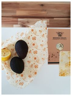 Beeswax Wraps - Set of 3 (S,M,L)