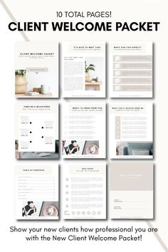 New Client Welcome Packet Business Branding, Business Marketing, Inbound Marketing, Marketing Branding, Corporate Branding, Marketing Ideas, Personal Branding, Web Design, Growing Your Business