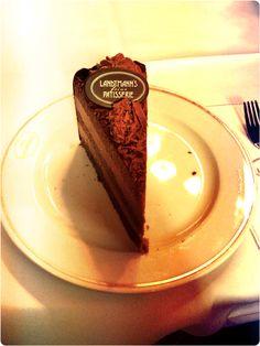 Best truffles cake :-) #cafelandtmann #vienna