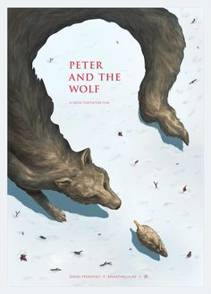 negative space example peter-and-the-wolf