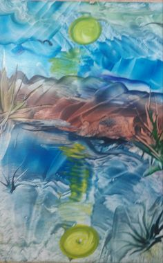 Waves, Painting, Outdoor, Art, Outdoors, Art Background, Painting Art, Kunst, Paintings