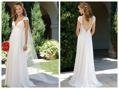 2014 V-NECK LACING STRAPS HOT SALE CHEAP CUSTOMER-MADE DESIGN WEDDING DRESS