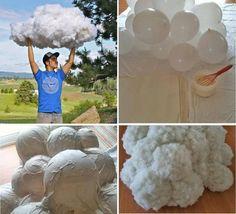 Simpatica idee per creare delle nuvole