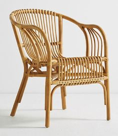 ✔️ Unique Rattan Chair Design Ideas On A Budget Rattan Armchair, Rattan Furniture, Home Furniture, Rattan Chairs, Armchairs, Upholstered Chairs, Ottomans, Outdoor Furniture, French Dining Chairs