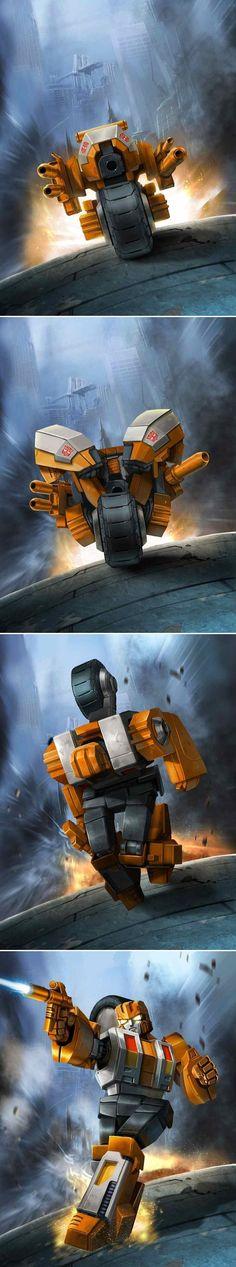 Transformers - Legends - Autobot Afterburner by manbu1977 on deviantART