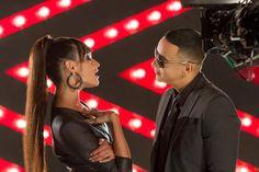 Daddy Yankee con Natalia Jiménez.