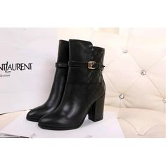 Chanel 2015 new style leather Boots CB059