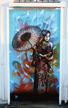 This amazing peice of london street art was done by a man called 'Fin Dac.' I think it is awesome!!!