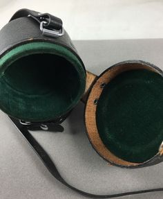 Vintage Pentax Asahi Takumar 3.5/35 35mm Lens case  w/ strap- Estate #PENTAX