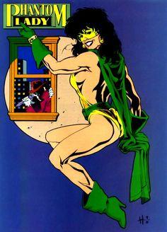 Phantom Lady II, Dee Tyler, DC Comics | Lady Phantom