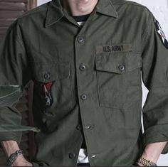 Wayrates Tactical Clothing & Trendy Men's Shirts Army Shirts, Men's Shirts, Tactical Clothing, Men's Clothing, Vietnam War, Army Green, Military Jacket, Man Shop, Mens Fashion