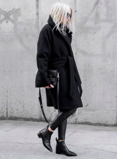 look invernal com preto