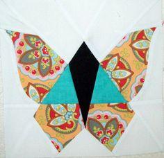 Free Butterfly Block Quilt Pattern