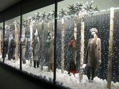 Christmas window display, Peter Jones, London
