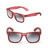 Ray-Ban Rubberized Modified Wayfarer Sunglasses