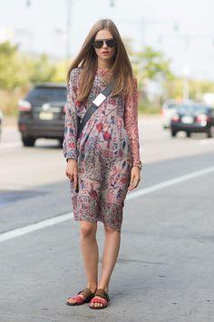 New York Fashion Week - September 2013 - Street Style - Caroline Brasch Nielsen