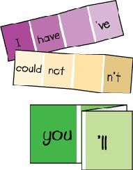 contraction paint cards