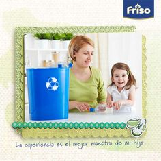Reciclar no sólo enseña a los niños a cuidar su entorno, sino también los motiva a no desperdiciar. Nunca es tarde para inculcar el valor del respeto, ¿estás de acuerdo?
