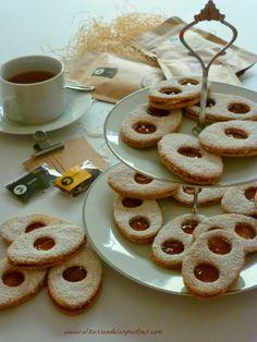 Galletas de Almendra con Mermelada de Higos