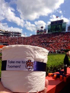 Rolling Toomers an Auburn tradition ~ Check out a new one, reading this cool new College Football Blog, RollTideWarEagle.com #Auburn #WarEagle