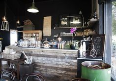 Resultado de imagem para small coffee shop project