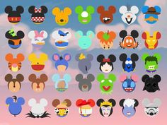 I was going to write a mobile app for the park, so I made these. I decided not to use them. because I don't want to hassle with Disney Legal [OC] Mickey Mouse Head, Disney Mouse, Disney Diy, Disney Crafts, Mickey Ears, Disney Mickey, Disney Rooms, Disney Nursery, Lilo Et Stitch