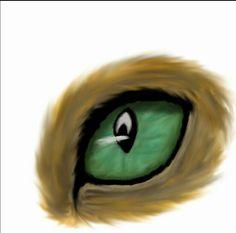 cat eye homemade :)