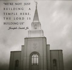 """""""Temples http://facebook.com/163927770338391 are more than stone and mortar. They are filled with faith and fasting. They are built of trials and testimonies. They are sanctified by sacrifice and service."""" –Thomas S. Monson http://pinterest.com/pin/24066179228814793 from his http://facebook.com/223271487682878 message """"The Holy Temple–A Beacon to the World"""" http://lds.org/general-conference/2011/04/the-holy-temple-a-beacon-to-the-world"""