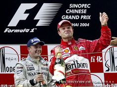 On this day... 26 September (2004) - Barrichello grabs his chance in China.