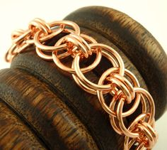 Easy Copper Chain Bracelet Kit by UnkamenSupplies, $30.00 ~ Great for Father's Day