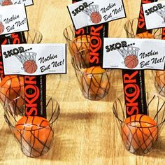 These basketball treat bag toppers are perfect for treat moms, team parties, coaches gifts or a basketball birthday! Basketball Party Favors, Basketball Birthday Parties, Basketball Gifts, Birthday Party Games, Basketball Teams, Boy Birthday, Birthday Basket, Basketball Skills, Basketball Season
