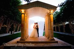 The intimate garden setting of this Bay Area wedding venue creates the ultimate romantic experience.
