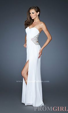 Open Back Evening Gown by La Femme 18771 at PromGirl.com   $189.00 On sale ($379.00)