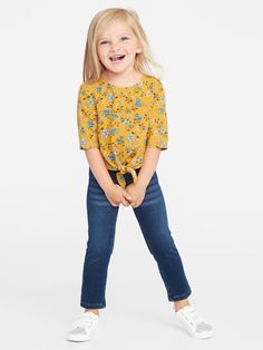 Toddler Boy Fashion, Toddler Girl Style, Toddler Girls, Girl Fashion, Trendy Outfits, Kids Outfits, Stitch Fix Kids, Shop Old Navy, Swing Top