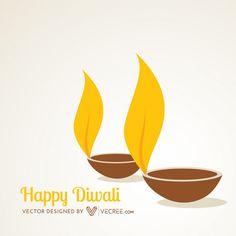 Deepawali Diya Free Vector #diwali #diya #hindu #india Diwali Cards, Diwali Diya, Hindu India, Diwali Lights, Free Vector Graphics, Logo Design