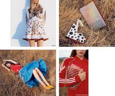 I am spring: designer collections.