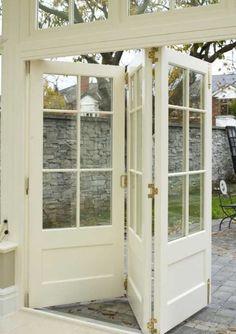 Bifold doors instead of sliders