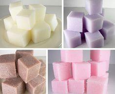 DIY – How To Make Sugar Scrub Cubes