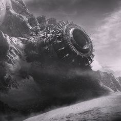 B&W concepts by Quentin Mabille, via Behance